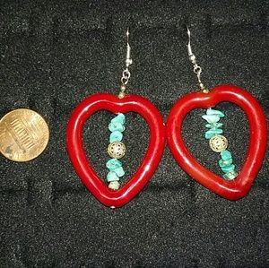 Jewelry - Heart shape earrings